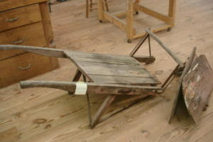 wooden-wheelbarrow-broken