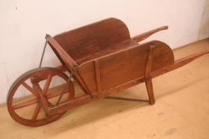 wooden-wheelbarrow-restored